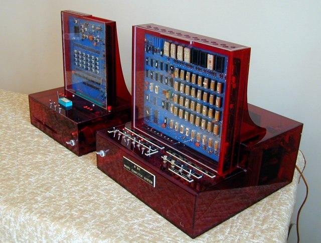Univac 8008 microcomputer